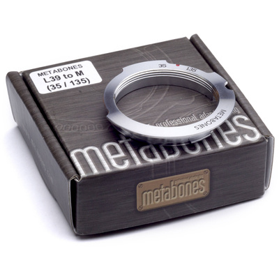 Metabones L39 Mount 35-135mm Lens to Leica M Camera 6-Bit Lens Mount Adapter