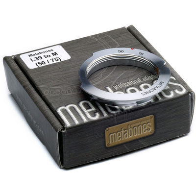 Metabones L39 Mount 50-75mm Lens to Leica M Camera 6-Bit Lens Mount Adapter