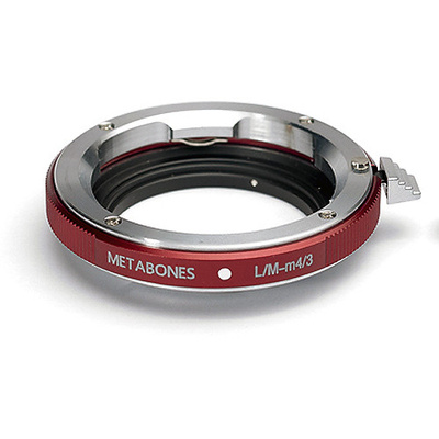 Metabones Leica M Lens to Micro Four Thirds Lens Mount Adapter (Red)