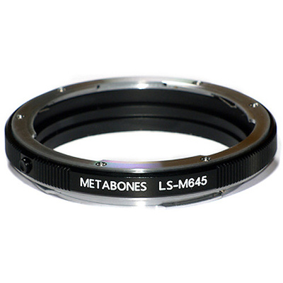 Metabones Mamiya 645 Lens to Leica S Camera Lens Mount Adapter