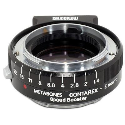 Metabones Contarex Lens to Sony NEX Camera Speed Booster