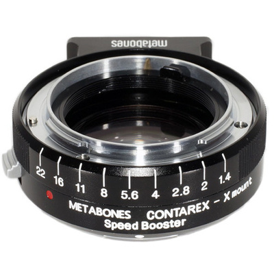 Metabones Contarex Lens to Fuji X Camera Speed Booster