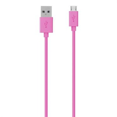 Belkin Micro-USB Charging Cable - Pink 1.2m