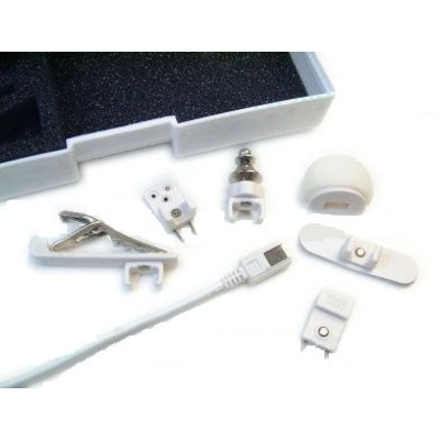 Tram TR50 - Omnidirectional Lavalier Condenser Microphone (White)