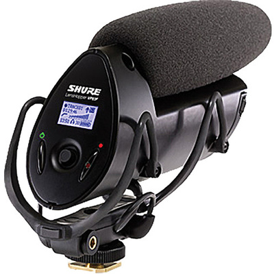 Shure VP83F LensHopper Shotgun Microphone with Integrated Flash Recorder