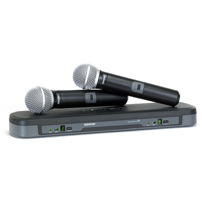 Shure PG288-PG58 Dual Handheld Wireles System