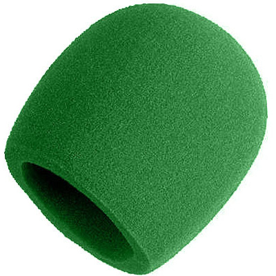 Shure Windscreen for SM58 - Green