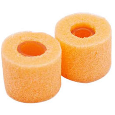 Shure Orange Foam Sleeves - 2 Small