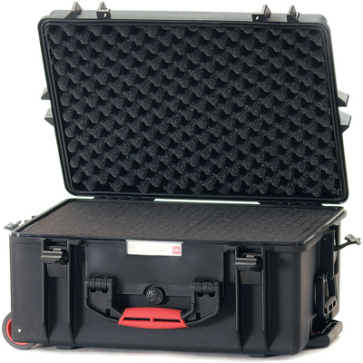 HPRC 2600 Wheeled Hard Case with Cubed Foam Interior (Black)