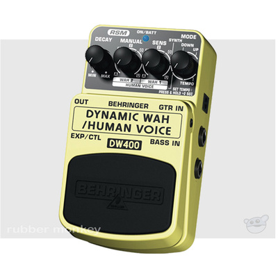 Behringer Dynamic Wah Effects Pedal