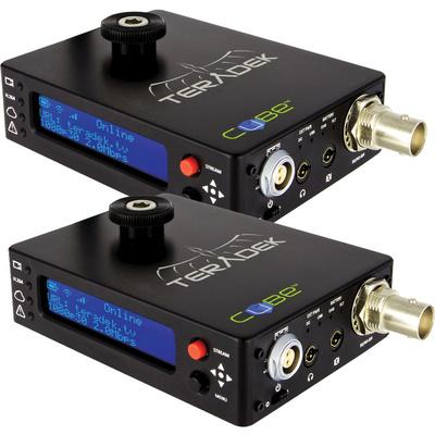 Teradek Cube 105 Encoder & 305 Decoder HD-SDI with Ethernet