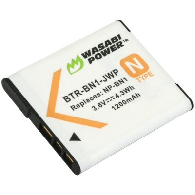 Wasabi Power Battery for the Sony NP-BN1