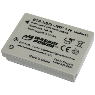 Wasabi Power Battery for the Canon NB-5L