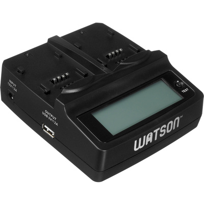 Watson Duo LCD Battery Charger