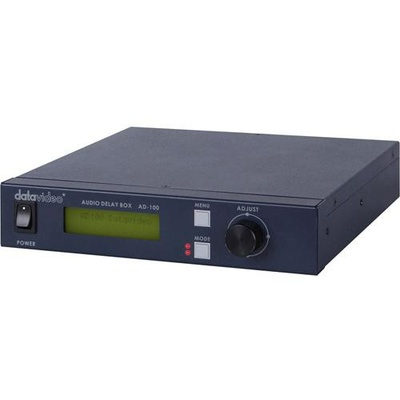 Datavideo AD-100M Audio Delay Box with Microphone Input (Up to 700ms Delay)