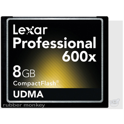 Lexar 8GB CompactFlash Card 600X