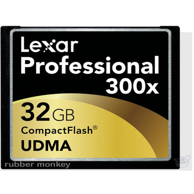 Lexar 32GB CompactFlash card 300X