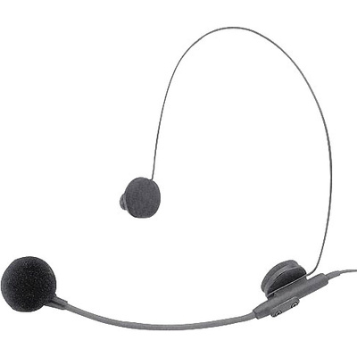 Azden HS-11H Uni-directional headset mic with Hirose connector