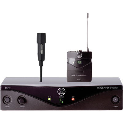 AKG WMS 45 Perception Lapel Wireless System (Presenter Set) Band A