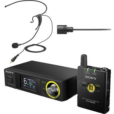 Sony DWZB70HL Digital Wireless Headset & Lavalier Set