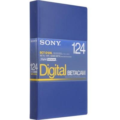 Sony BCT-D124L 124 Minute Large Digital Betacam Cassette