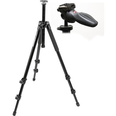 Manfrotto MT294A3 Aluminium Tripod with 324RC2 Grip Ball Head Kit (294)