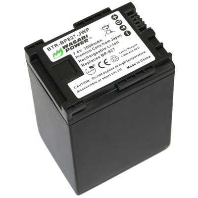 Wasabi Power Battery for Canon BP-827