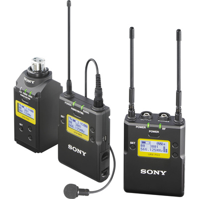 Sony UWP-D16 Dual Combo ENG Wireless Microphone Kit