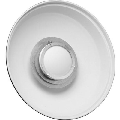 "Hensel 22"" ACW White Beauty Dish Reflector"