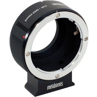 Metabones Olympus OM Mount Lens to Micro Four Thirds Lens Mount Adapter (Black)