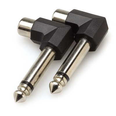 Hosa GPR-123 1/4'' to RCA Adapters