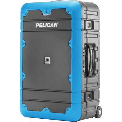 Pelican BA22 Elite Carry-On Luggage (Grey with Blue)
