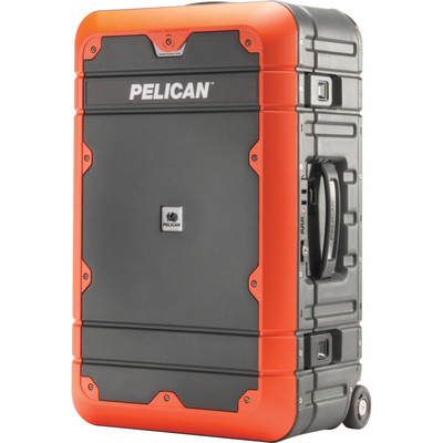 Pelican BA22 Elite Carry-On Luggage (Grey with Orange)