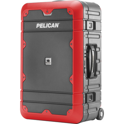 Pelican BA22 Elite Carry-On Luggage (Grey with Red)