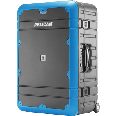 Pelican BA27 Elite Weekender Luggage (Grey and Blue)