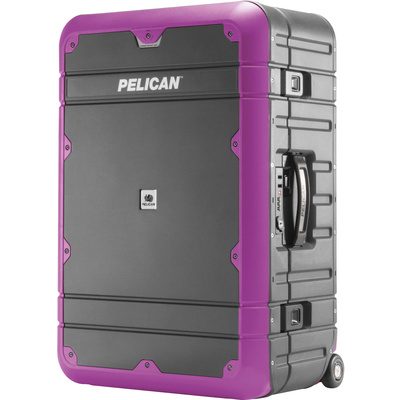 Pelican BA27 Elite Weekender Luggage (Grey and Purple)