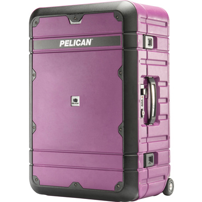 Pelican BA27 Elite Weekender Luggage (Plum and Black)
