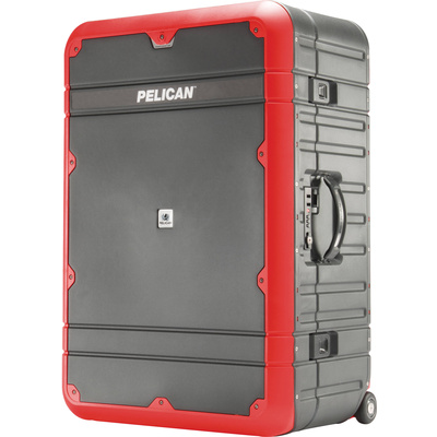 "Pelican 30"" Elite Vacationer Luggage (Grey and Red)"