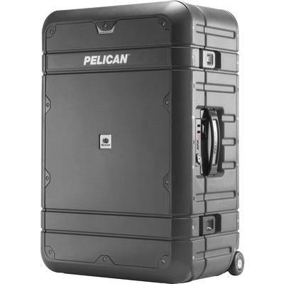 Pelican EL27 Elite Weekender Luggage with Enhanced Travel System (Grey and Black)