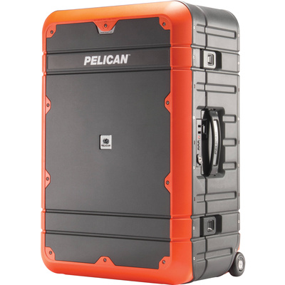 Pelican EL27 Elite Weekender Luggage with Enhanced Travel System (Grey and Orange)