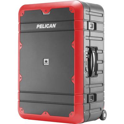 Pelican EL27 Elite Weekender Luggage with Enhanced Travel System (Grey and Red)