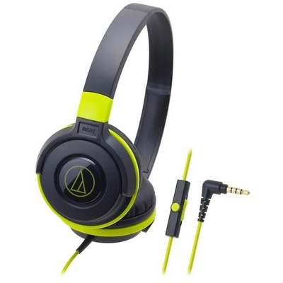Audio Technica ATH-S100IS Headphones (Green)