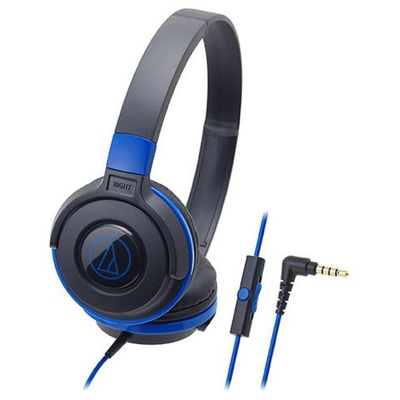 Audio Technica ATH-S100IS Headphones (Blue)