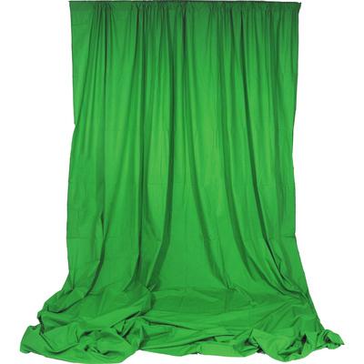 Impact Chroma Sheet Background - 3 x 3.7m (Chroma Green)