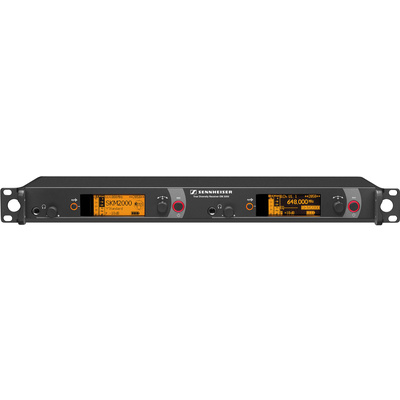 Sennheiser EM2050-BW Twin Rackmount Diversity Receiver