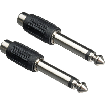 Hosa GPR-101 1/4'' to RCA Adapters