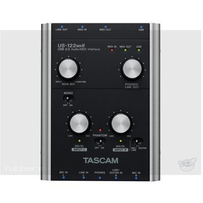 Tascam US-122MKII USB Audio Midi Interface