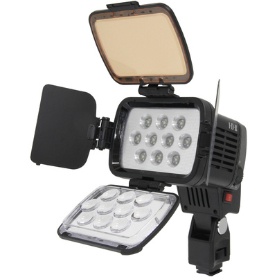 IDX X10-Lite-S Hi-Performance LED On-Camera Light