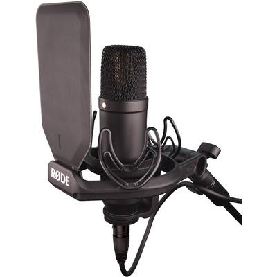 Rode NT1 Kit Large Diaphragm Condenser Microphone (Black)
