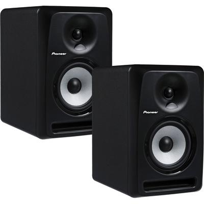 """Pioneer S-DJ50X 5"""" Active Reference DJ Speakers (Pair - Black)"""